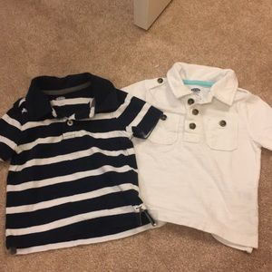 Two old navy collared shirts
